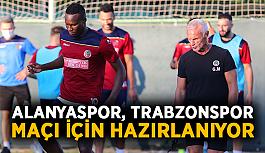 Alanyaspor, Trabzonspor maçı için hazırlanıyor