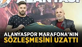 Aytemiz Alanyaspor Marafona'nın sözleşmesini uzattı