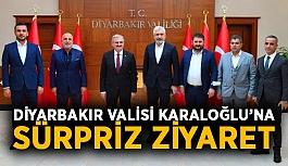 Diyarbakır Valisi Karaloğlu'na sürpriz ziyaret