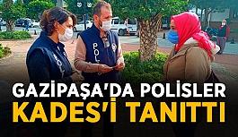 Gazipaşa'da polisler KADES'i tanıttı