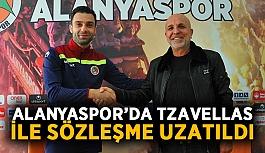Alanyaspor'da Tzavellas ile sözleşme uzatıldı