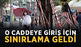 Antalya'da o caddeye giriş için sınırlama geldi