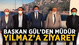 Başkan Gül'den Müdür Yılmaz'a ziyaret