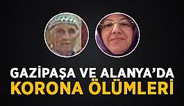 Gazipaşa ve Alanya'da korona ölümleri