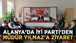 İYİ Parti'den Müdür Yılmaz'a ziyaret
