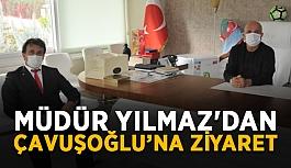 Müdür Yılmaz'dan Başkan Çavuşoğlu'na ziyaret