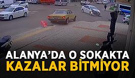Alanya'da o sokakta kaza bitmiyor