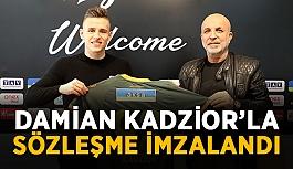 Damian Kadzior'la sözleşme imzalandı