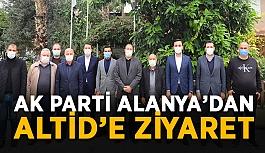 AK Parti Alanya'dan ALTİD'e ziyaret