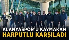 Alanyaspor'u Kaymakam Harputlu karşıladı
