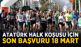 Atatürk Halk Koşusu için son başvuru 18 Mart