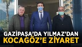Gazipaşa'da Yılmaz'dan Kocagöz'e ziyaret