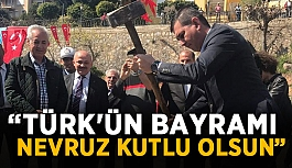 """""""Türk'ün bayramı Nevruz kutlu olsun"""""""
