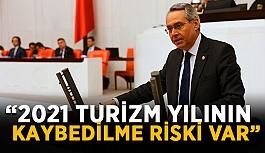 """""""2021 Turizm yılının kaybedilme riski..."""