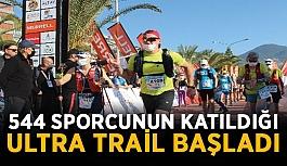 544 sporcunun katıldığı Alanya Ultra Trail başladı