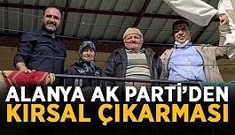 Alanya Ak Parti'den kırsal çıkarması