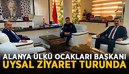 Alanya Ülkü Ocakları Başkanı Uysal...