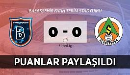 Alanyaspor İstanbul'da direkleri geçemedi!