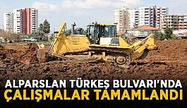 Alparslan Türkeş Bulvarı'nda çalışmalar tamamlandı
