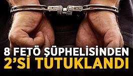 Antalya'da 8 FETÖ şüphelisinden 2'si tutuklandı