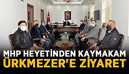 MHP heyetinden kaymakam Ürkmezer'e ziyaret