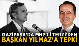 MHP İlçe Başkanı Terzi'den Başkan Yılmaz'a tepki