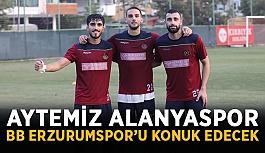 Aytemiz Alanyaspor BB Erzurumspor'u konuk edecek