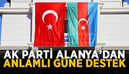 AK Parti Alanya'dan anlamlı güne destek
