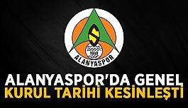 Alanyaspor'da genel kurul tarihi kesinleşti