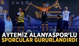 Aytemiz Alanyaspor'lu sporcular gururlandırdı