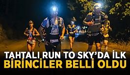 Tahtalı Run to Sky'da ilk birinciler belli oldu