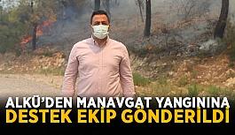 ALKÜ'den Manavgat yangınına destek...