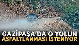 Vatandaşlar Sugözü Grup yoluna asfalt istiyor