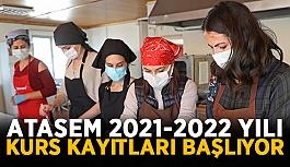 ATASEM 2021-2022 yılı kurs kayıtları başlıyor