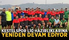Kestelspor'da lig hazırlıklarına devam