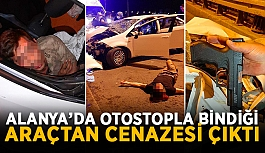 Alanya-Antalya D-400 yolunda feci kaza