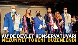 AÜ'de Devlet Konservatuvarı mezuniyet...