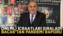 Başkan Bacak'tan pandemi raporu