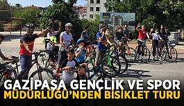 Gazipaşa Gençlik ve Spor Müdürlüğü'nden bisiklet turu