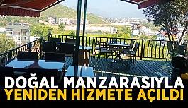 Gazipaşa'da doğal manzarasıyla yeniden hizmete açıldı