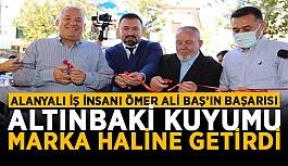 Alanyalı iş insanı Ömer Ali Baş'ın...