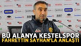BÜ Alanya Kestelspor Fahrettin Sayhan'la anlaştı