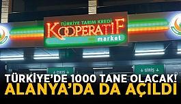 Türkiye'de 1000 tane olacak! Alanya'da...