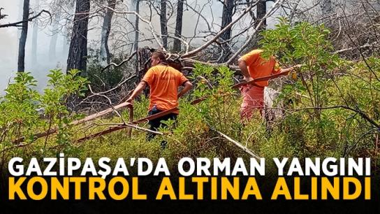Gazipaşa'da orman yangını kontrol altına alındı
